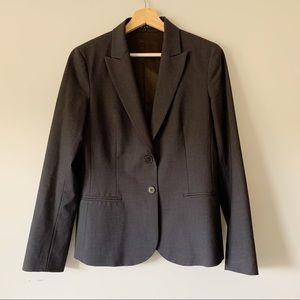 Theory Blazer Navy Wool Blend Size 10